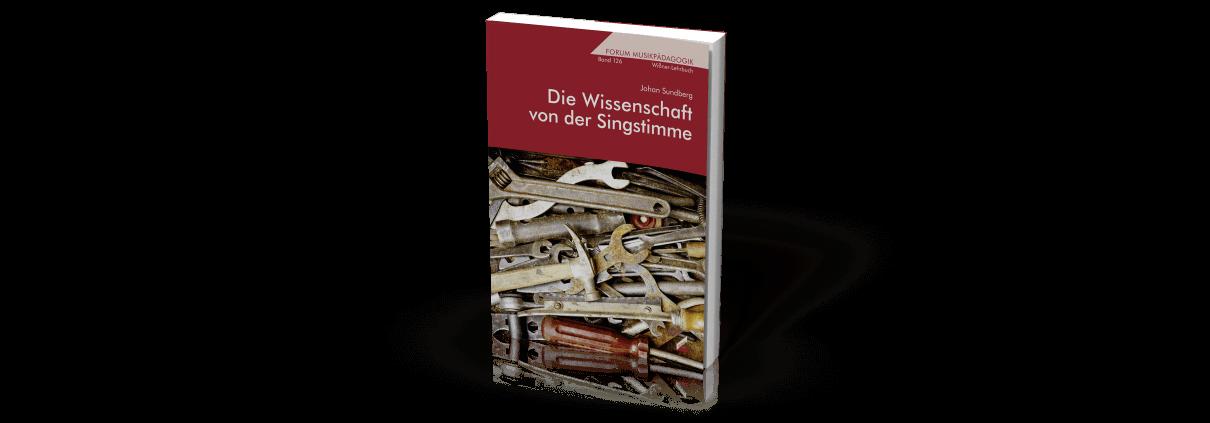 Johan Sundberg - Die Wissenschaft von der Singstimme - Buchdeckel
